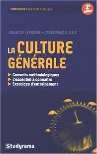 La culture générale par Jean-François Guédon