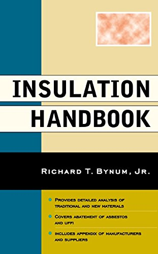 Compare price insulation handbook bynum on for Insulation cost comparison