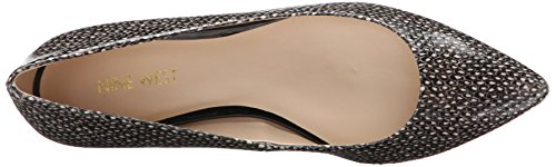 Black Flats West Women's Onlee Sy Nine White Ballet 6BORXW6vq