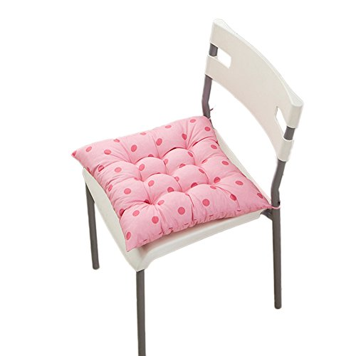 (PYD Fashion Home Office Chair Seat Cushion Pads Sofa Seat Buttocks Chairs Cushions Pillow Decor (Pink))