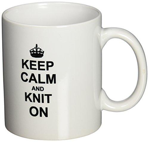 3dRose mug 157736 1 Knitting Humorous 11 Ounce