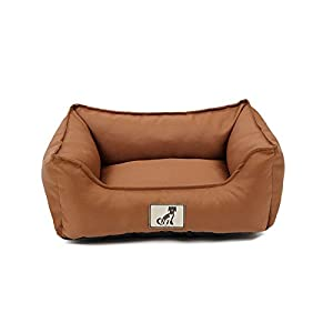 AllPetSolutions Dexter Dog Bed - Soft Waterproof Washable Hardwearing Basket 4
