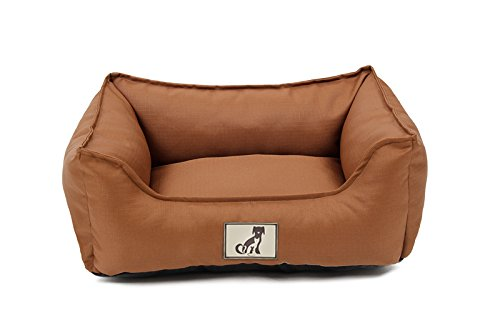 AllPetSolutions Dexter Dog Bed - Soft Waterproof Washable Hardwearing Basket 1