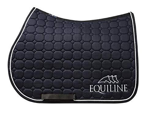 EQUILINE Outline Saddle Cloth Navy bluee Dressage