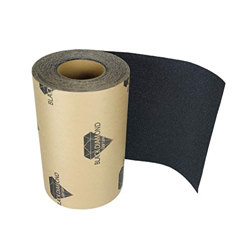 (Black Diamond Grip Skateboard Longboard Griptape Roll)