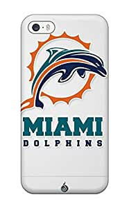 High Impact Dirt/shock Proof Case Cover For Iphone 5/5s (miamiolphins)