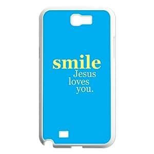 Custom Jesus Design Plastic Case Protector For Samsung Galaxy Note 2