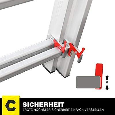 Craft Full Escalera telescópica de aluminio - Escalera CF de 106 a - 6 Tamaños 3 x 6/3 x 7/3 x 9/3 x 11/3 x 12/3 x 14 - Escalera - Escalera multifunción: Amazon.es: Bricolaje y herramientas