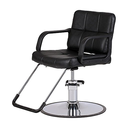 Anself Hydraulic Salon Barber Chair Hairdressing, Hair Styling Cutting Chair by Anself