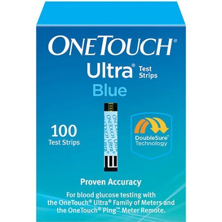 OneTouch Ultra Blue Test Strips 100 ct by Onetouch