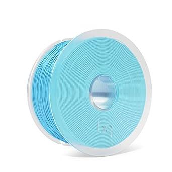 BQ F000164 - Filamento PLA de diámetro 1.75 mm, 1 kg, Color Topaz Blue