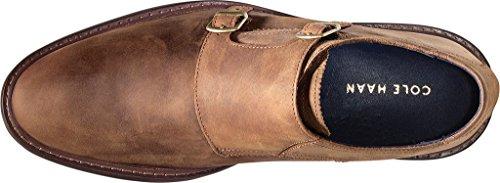 Cole Haan Heren Benton Welt Double Monk Strap Oxford Camel Leather
