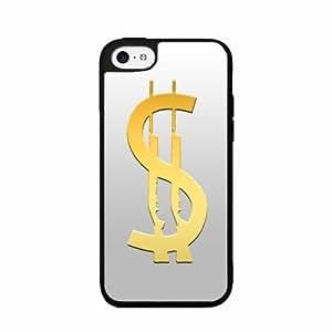 Cash Gun- TPU RUBBER SILICONE Phone Case Back Cover iPhone 4 4s