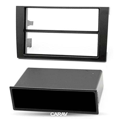 CARAV 11-155 DIN Ablagefach mit Deckel f/ür Radioblende universal