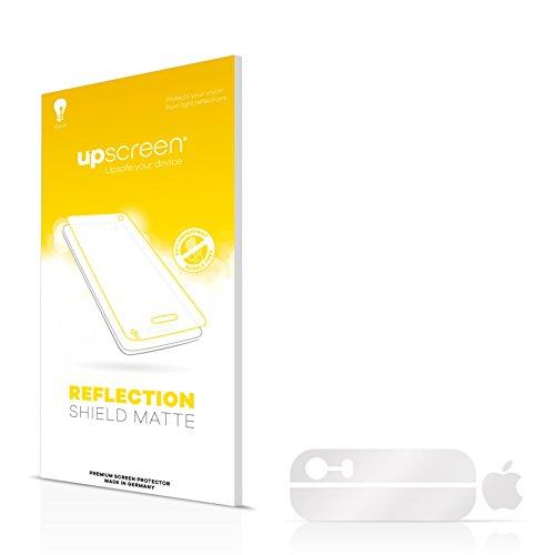 upscreen Scratch Shield Pellicola Protettiva Opaca Apple iPhone SE Posteriore (superfici di vetro + logo) Protezione Schermo – Antiriflesso, Anti-Impronte