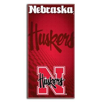 Nebraska Northwest Beach Towel