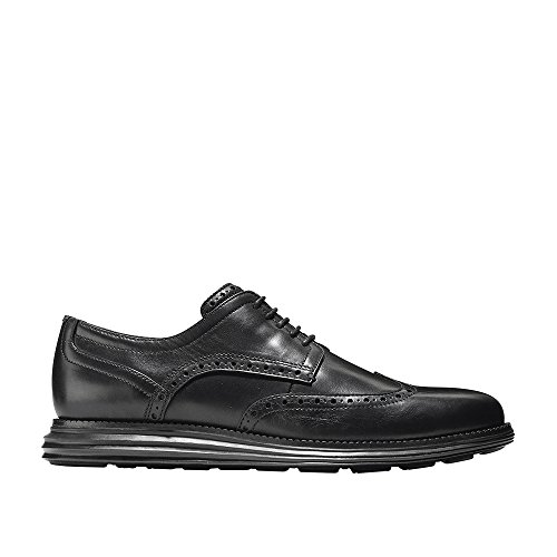 Cole Haan Men's Original Grand Shortwing Oxford, Black/Black, 12 M US by Cole Haan