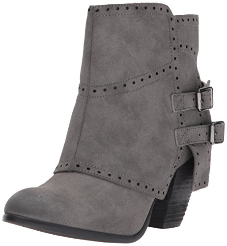 Not Rated Women's Carolyn Ankle Bootie, Grey, 7.5 M US