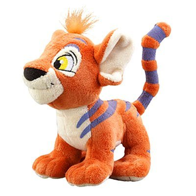 Neopets Collector Species Series 2 Plush with Keyquest Code Orange Kougra - Neopets Collector Series