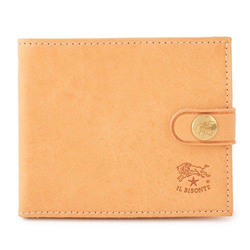 b6ba92bed9d9 ILBISONTE イルビゾンテ C1007 P VACCHETTA レザー 二つ折り財布 小銭入れあり ミニ財布 豆財布