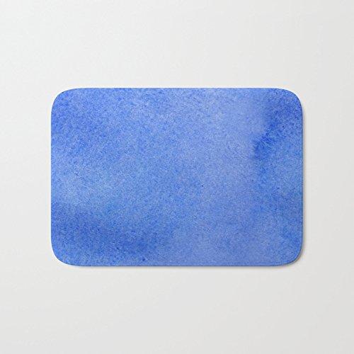 SPXUBZ Azure Watercolor Non Slip Entrance Rug Outdoor/Indoor Dirt Buster Durable and Waterproof Machine Washable Door Mat Size:18x30 Inch