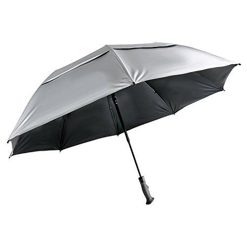 SunTek Folding Protection Umbrella Silver