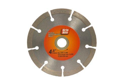 UPC 764666571129, Grip-Rite GRSDB45P 4.5-Inch Premium Segmented Diamond Blade