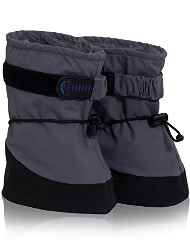 Molehill (MH17-8001-S) Infant Boot, Grey, Small (Infant) ()