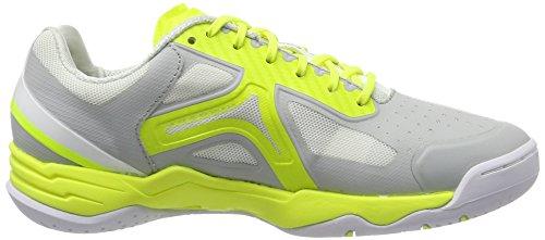 Kempa Dames Lite Aile Mettent En Garde Les Chaussures De Handball Gris (gris Clair / Blanc / Jaune Fluo)