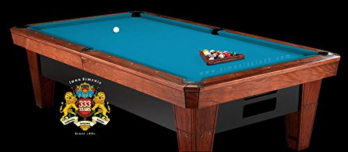 - Simonis Tournament Blue Billiard Cloth- 8 Foot Cut