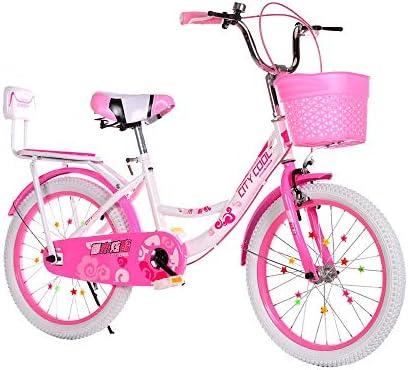 Fenfen-cz Bicicleta de Bicicletas niños niñas Freestyle Bicicletas 16 18 20 22 Pulgadas del niño (Color : Pink, Size : 20inch): Amazon.es: Hogar