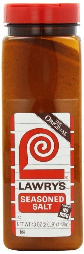 Lawry's Seasoned Salt, 40-Ounce by McCormick For Chefs [Foods]