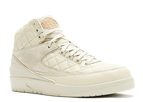 NIKE AIR JORDAN 2 RETRO II JUST DON C W/LEATHER CAP & GOLD JORDAN PIN & DUST BAGS 834825-250 Size 14 (Nike Pins)