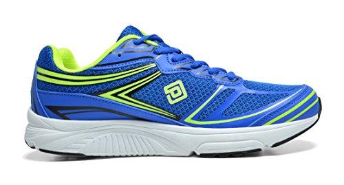 Paires De Rêve Mens Athlétique Chaussures De Course Sneakers Royal L.green Noir