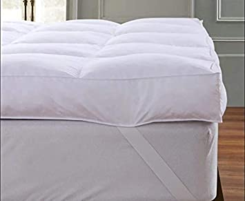 Hotel Quality Plush Velvet Extra Thick  Deep Mattress Topper Soft Comfy New