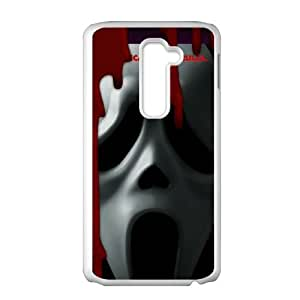 Scream LG G2 Cell Phone Case White Phone cover G2699304