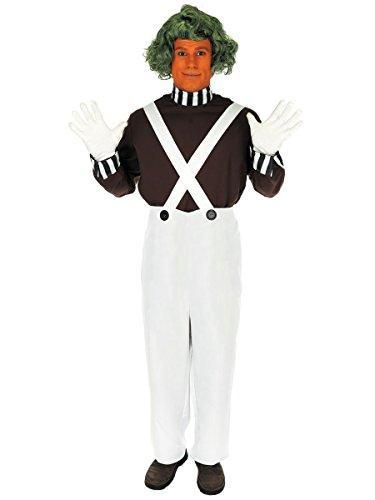 Fun Shack Adult Oompa Loompa Factory Worker Costume