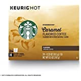 Starbucks Caramel Flavored Medium Roast Single Cup Coffee for Keurig Brewers (24)