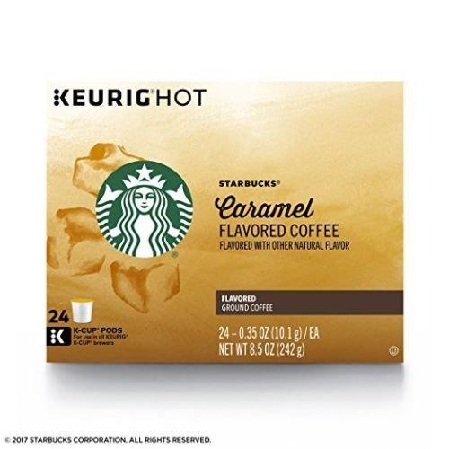 Starbucks Toasted Graham Flavored Medium Roast Coffee Single Serve Pods for Keurig Brewers