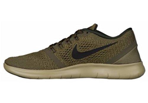 Dark Vert Olive Nike Free Black de Running Homme 303 Loden Run Chaussures Y0xv4Y