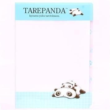 Carpeta plástico archivador kawaii A4 oso panda Tarepanda: Amazon.es: Juguetes y juegos
