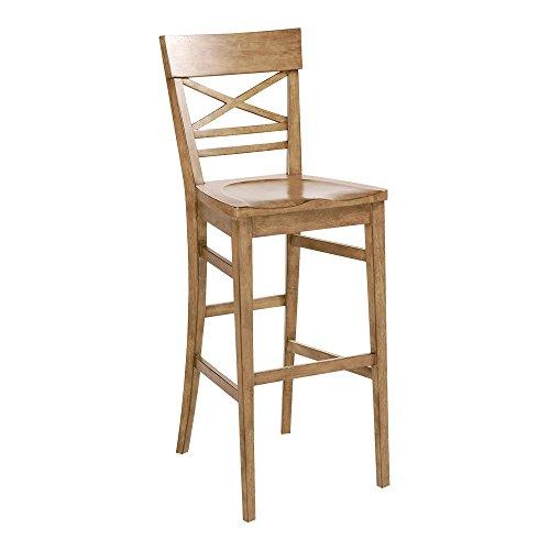 Superb Amazon Com Ethan Allen Blake Barstool Umber Kitchen Dining Short Links Chair Design For Home Short Linksinfo