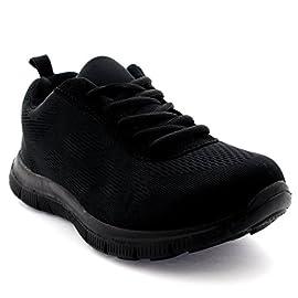 Lanchengjieneng Women Trainers Running Shoes Lightweight Gym Athletic Sports Sneakers Casual Mesh Walking Jogging Shoes