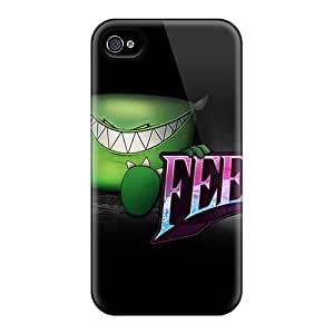 Shock Absorption Hard Phone Cases For Iphone 4/4s (rgv15127frjB) Support Personal Customs Realistic Rise Against Image