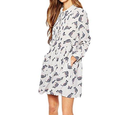 Buy cat jersey dress - 4