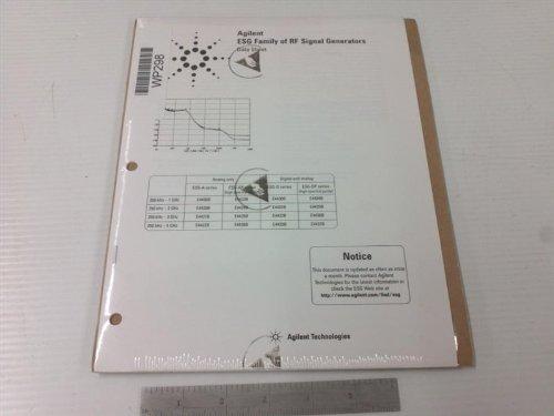 (Agilent 5965-3096E Data Sheet for ESG Family of RF Signal Generators )