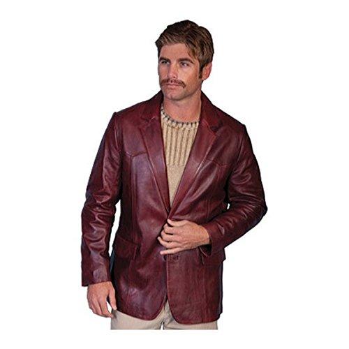 [スカーリー] メンズ ジャケット&ブルゾン Lambskin Blazer 501 [並行輸入品] B07DHNGN7M 42