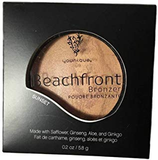 Younique Beachfront Bronzer SUNSET A Duet of Bronzing Powders Baked on Terra Cotta Tiles