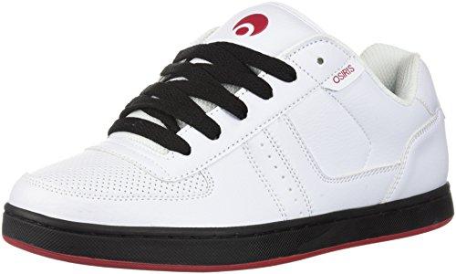 Osiris Men's Relic Skate Shoe, White/red/Black, 5 M US