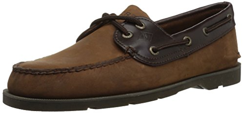 Sperry Top-sider Mens Scarpe Da Barca Sottoveste Marrone